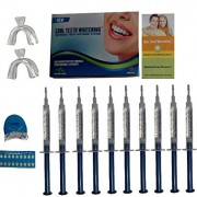Cool-Teeth-Whitening-Kit-10-Syringes-of-44-Carbamide-Peroxide-Gel-1-LED-Accelerator-Light-2-Trays-1-Shade-Guide-1-Instructions-Sheet-at-Home-Tooth-Whitener-Products-0-0